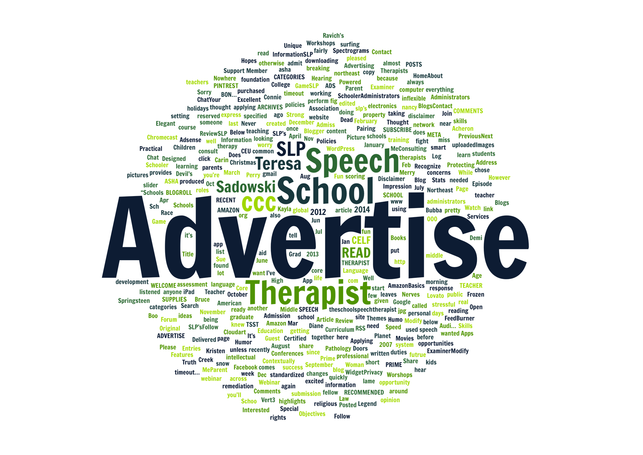 Advertise On The School Speech Therapist